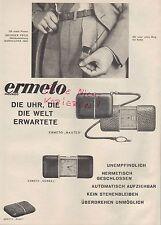 Svizzera, Pubblicità 1930, MOVADO ERMETO ASTUCCIO-Orologio per prelevare