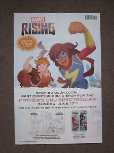 Marvel Comics Marvel Rising Ms. Marvel Marvel Comics Superhero Poster 36x24