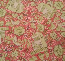 Camille Falling Branches Melissa White Rowan Fabrics BTY PWMW018 Candy Coral