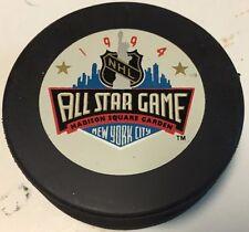 1994 NHL All-Star Game Souvenir Hockey Puck New York Rangers