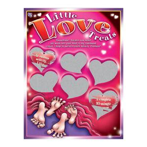 SEXY SCRATCHER - LITTLE LOVE TREATS ADULT COUPLES VALENTINES CUPID'S LOVE SHOP