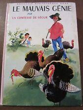 Comtesse de Ségur: Le mauvais génie/ Bibliothèque Rose, 1969