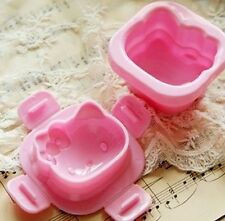 1Pcs Hello Kitty Rice Lunch Food Ball Mold Kawaii sanrio pink
