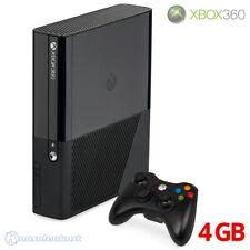 Microsoft Xbox 360 - Konsole E 4GB #schwarz + Original Controller + Zub.