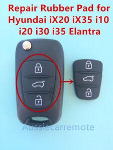 Remote Flip Key Case Repair Rubber Pad for Hyundai iX20 iX35 i20 i30 i35 Elantra