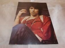 ROLLING STONES - KEITH RICHARDS - Mini poster couleurs 6 !!! VINTAGE 70'S !!!