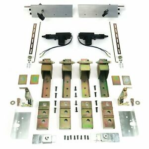 2 Door Individual Suicide Hidden Hinge System with Latches & Deadloc Street