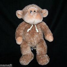 "Gund Brown Stringer Monkey 2616 Knotted String Ties Cord Tan Plush Gorilla 14"""