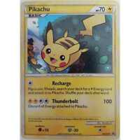 Pokemon Pikachu HGSS03 Wizards of the Coast Black Star Promo Holo  EN - NM/Mint