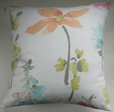 """Cushion Cover in Next Bright Painterly Floral 16"""" Matches Curtains"""