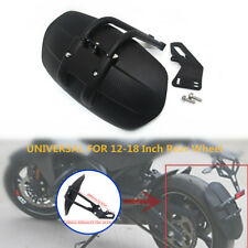 "12-18""Motorcycle Rear Wheel Fender Bracket Mudguard Protector Splash Guard Part"