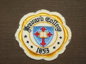 "VINTAGE 4"" ACROSS BREVARD COLLEGE 1853 CLOTH PATCH"