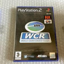 Vintage# PS2 PLAYSTATION 2 WCR WORLD CHAMPIONSHIP RUGBY# PAL SEALED