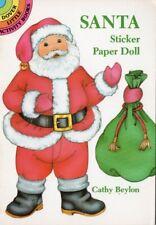 2 Dover Little Activity Books Sticker Paper Doll & Penguin Stickers