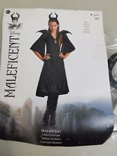 Disney Maleficent Sleeping Beauty Girl's Halloween Costume 10-12 Large #5345