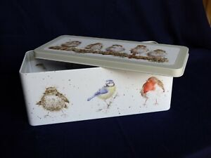 Wrendale Cracker Tin Garden Birds