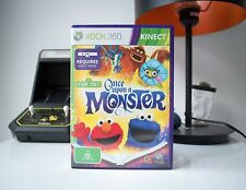 SESAME STREET: ONCE UPON A MONSTER | XBOX 360 | COMPLETE | SAME DAY POST