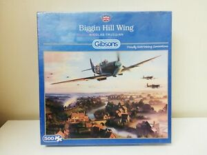 """Gibsons Biggin Hill Wing Jigsaw Puzzle 