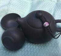 Teapot 120ml tea pot real yixing zisha clay pot Pu'er tea pot & 2 cups on sales