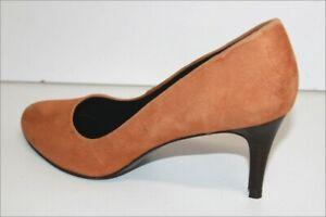 L'Atelier De Charlotte Court Shoes daim Light Brown T 40 Very Good Condition