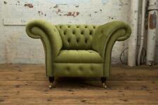 Grün Chesterfield Couch Sofa Polster 1 Sitzer Couchen Sitz Garnitur Sofas Neu