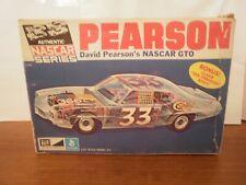 MPC 1/25 David Pearson NASCAR GTO model kit sealed  inside