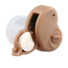 In The Ear Hearing Aid Best Small Invisible Sound Amplifier Adjustable Tone Mini
