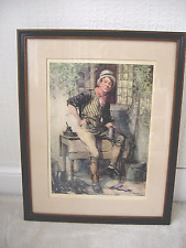 Vintage Print of Character from Pickwick Papers by Frank Reynolds 1876 - 1953