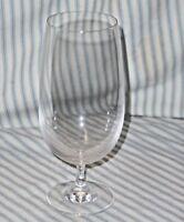 Six Elegant THIN CRYSTAL Deep Goblet / Water / Stemmed Belgian Ale Beer Glasses
