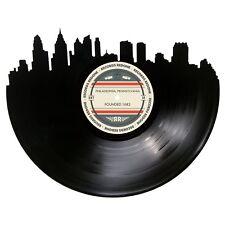 Philadelphia Skyline Vinyl Record Art