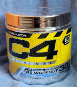 Cellucor C4 Original Pre Workout Blue Razz Flavor - 30 Servings FREE SHIPPING