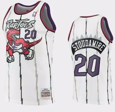 Men's Toronto Raptors Damon Stoudamire Mitchell & Ness White 1995-96 NBA Jersey