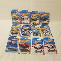 Hot wheels lot of 12 NEW Sealed Challenger Race Cars Red Edition Lamborghini