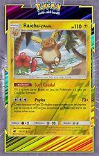 Raichu d'Alola Reverse-SL04:Invasion Carmin-31/111-Carte Pokemon Neuve Française