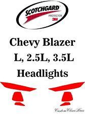 3M Scotchgard Paint Protection Film Clear Pre-Cut Kit 2019 2020 Chevy Blazer L