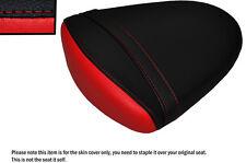 DESIGN 2 RED & BLACK CUSTOM FITS SUZUKI GSXR 1000 07-08 K7 K8 REAR SEAT COVER