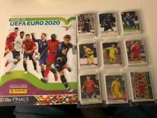 PANINI ROAD TO EURO 2020 COMPLETE STICKERS SET + ALBUM COLLECTION NEW