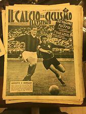 Il calcio e il ciclismo illustrato 1956 N°38 TUTTO SUL NUOVO CAMPIONATO 23/6