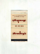 American Ace match box #316 - Bentley's - North Palm Beach, Florida