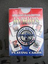 U.S. Military Heroes-Iraqi Freedom Playing Cards - NIP
