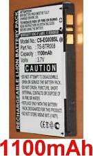 Batería 1100mAh tipo T02 TS-BTR008 Para Toshiba TG01