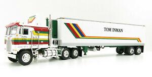 First Gear 60-0847 Kenworth K100 COE Truck 40' Reefer Trailer TomInman 1:64