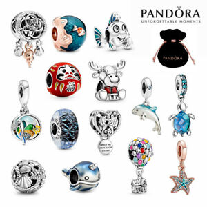 New Genuine PANDORA Ocean Sea Charms ALE S925 Sterling Silver With Gift Pouch