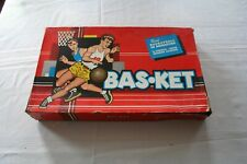 1954 Cadaco BAS-KET Basketball Game 100% Complete in Box