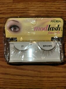Andrea ModLash Strip Lash, Brown [21] 1 ea (Pack of 4)