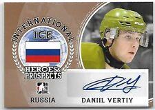 2016-17 Leaf ITG H&P International Ice Daniil Vertiy Bronze Auto RC