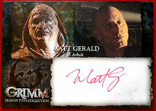 GRIMM - MATT GERALD (RED INK) (Arbok) - AUTOGRAPH CARD (MGA)