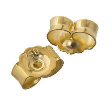 1Paar 750 Wei�Ÿ oder Gelbgold Ohrmutter Gegenstecker Stopper Lochgrö�Ÿe 0,8mm