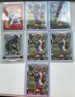 Marcus Peters Rookie Refractor Lot (7) Chiefs Ravens All Star RC SP