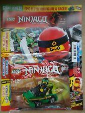 NEW THE LEGO NINJAGO MOVIE SPECIAL LIMITED EDN MAGAZINE GIANT ED 2 + SET 30532